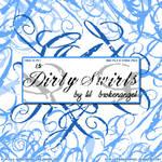 Brushes - Dirty Swirls