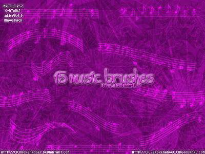 Brushes - Music by lilbrokenangel