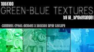Textures - GreenBlue