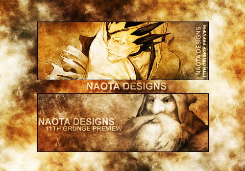 11th Grunge Set by NaotaAesop