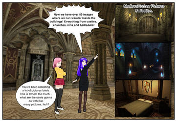 Medieval Indoors Collection for Comipo by Lady-Aurora-Moon