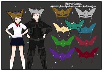Yugioh Crowns by Lady-Aurora-Moon