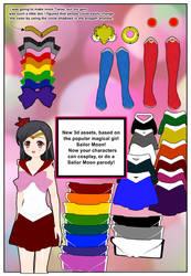 SailorMoonCosplay for Comipo