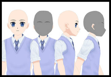 Male Second skin Head For Comipo by Lady-Aurora-Moon