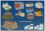 Random Buildings For Comipo by Lady-Aurora-Moon