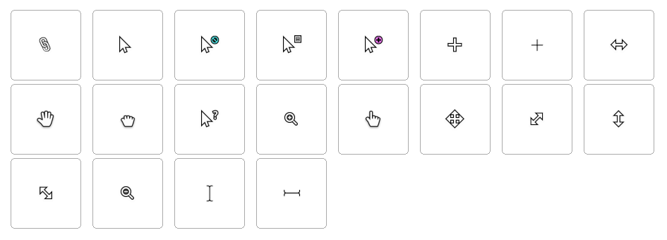 Free cursor hand clipart