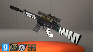 FoE - Zebra Assault Rifle [DL] + [MODs Update!]