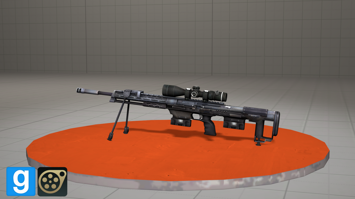 DSR50 Rifle [DL] by WhiteSkyPony