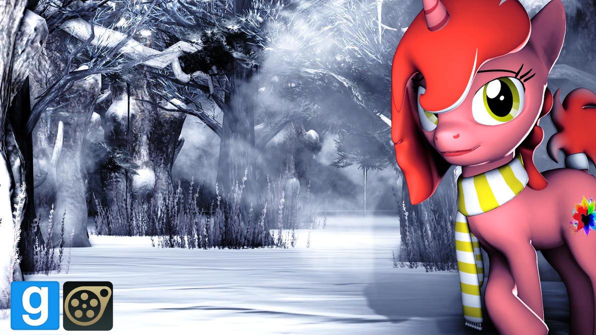 Winter Scarf Long [DL] by WhiteSkyPony
