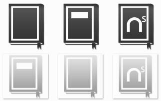 Token Book Icons
