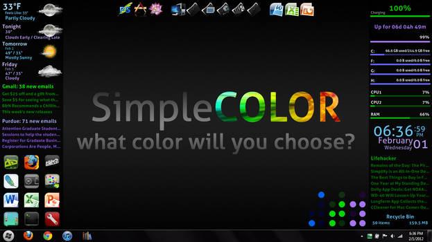 SimpleCOLOR v1.1.0