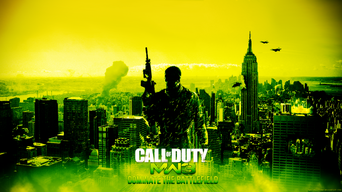 Modern Warfare 3 Wallpaper by TheEvOlLuTiOnS