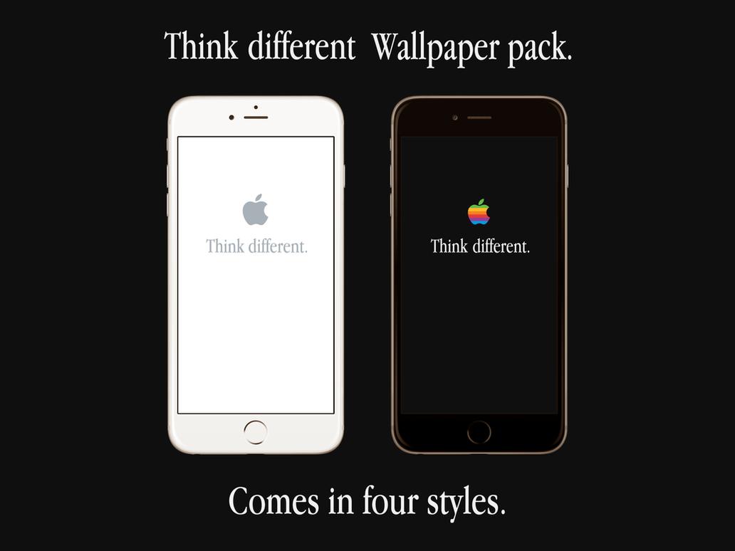 apple think different wallpaper packjtfr on deviantart