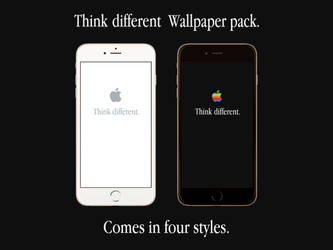 Apple Think Different Wallpaper Pack