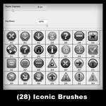 28 - 3D Iconic Brushes