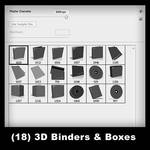 18 - 3D Binders And Boxes