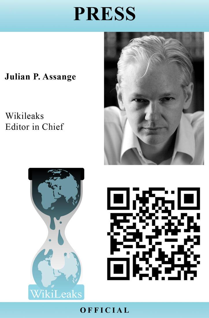 WikiLeaks Press Pass Template by Juliets-Designs on DeviantArt