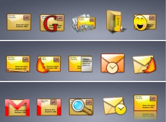 Yet More Email Icons by zman3