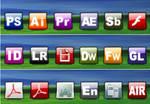 Adobe CS3 Program icons