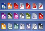 Adobe cs 3 filetype icons