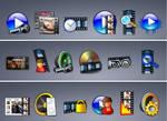 68 Audio video img icons