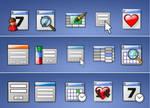 49 data calander ect icons