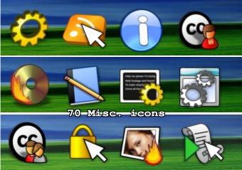 70 Misc icons by zman3