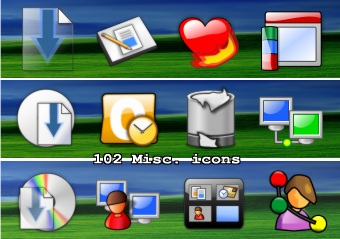 102 more misc icons
