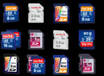 20 SD Card icons