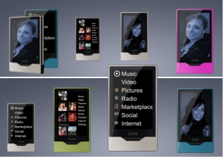 10 Zune hd icons
