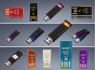 USB Thumb and MINI Drives