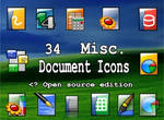 34 document icons