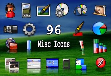 96 misc icons