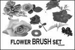 Flower BRUSH set