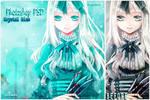 crystal blue psd