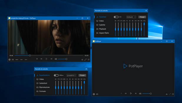 ModernW10-WinFrame Skin for PotPlayer by mr-web