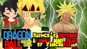 lMMD Short Film] Dragonball: Bardock's revenge