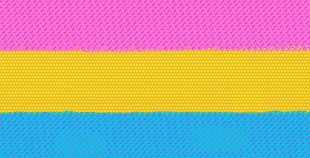 Pansexual Flag by GoofyGooberYeah