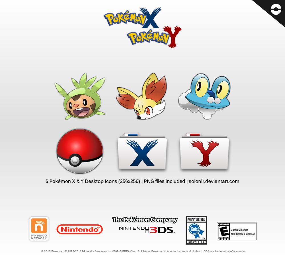 pokemon x and y desktop icons 256x256 by solonir on deviantart