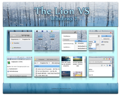 The Lion Visual Style - Windows 7 by pddeluxe