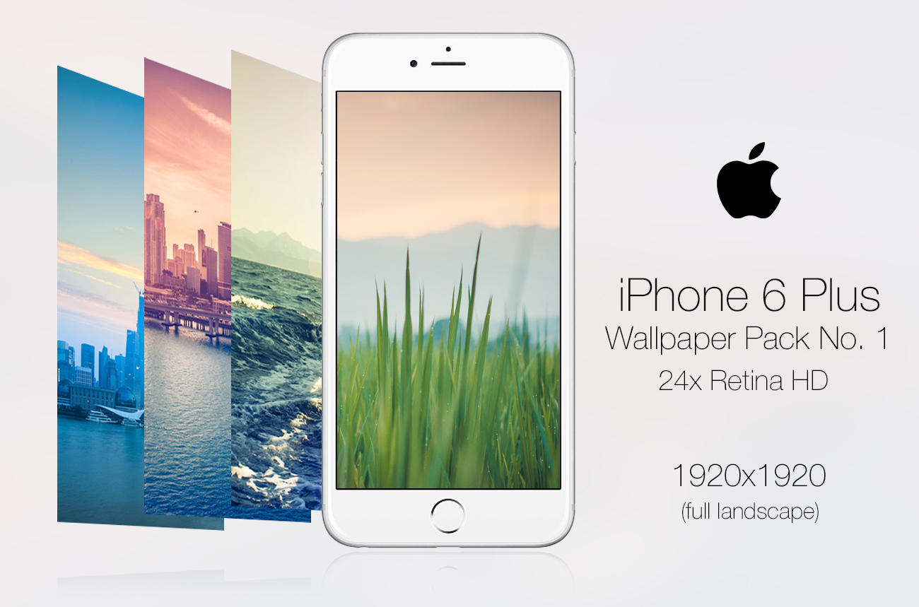 Retina HD Wallpaper Pack No. 1 - iPhone 6/S Plus by pddeluxe