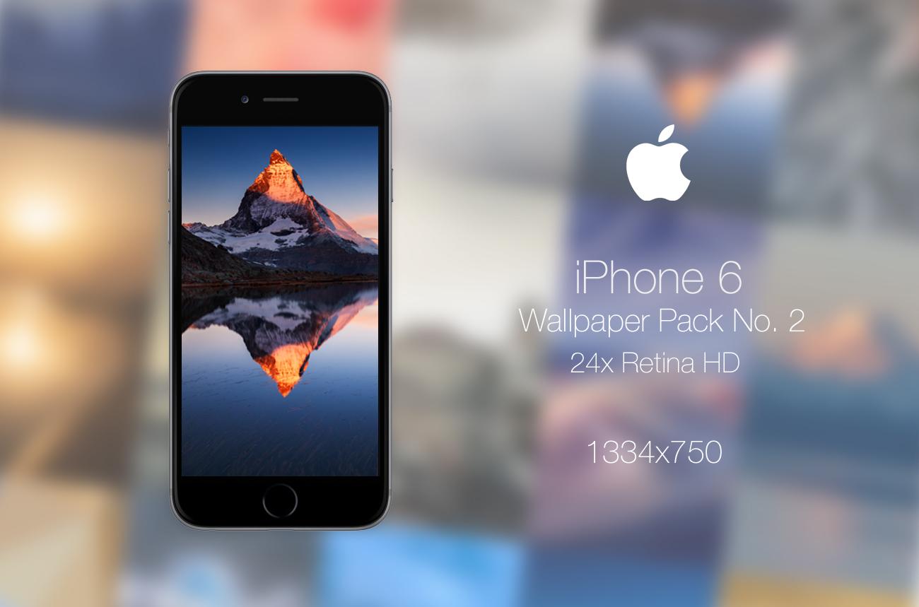 Retina HD Wallpaper Pack No. 2 - iPhone 6 / 6S