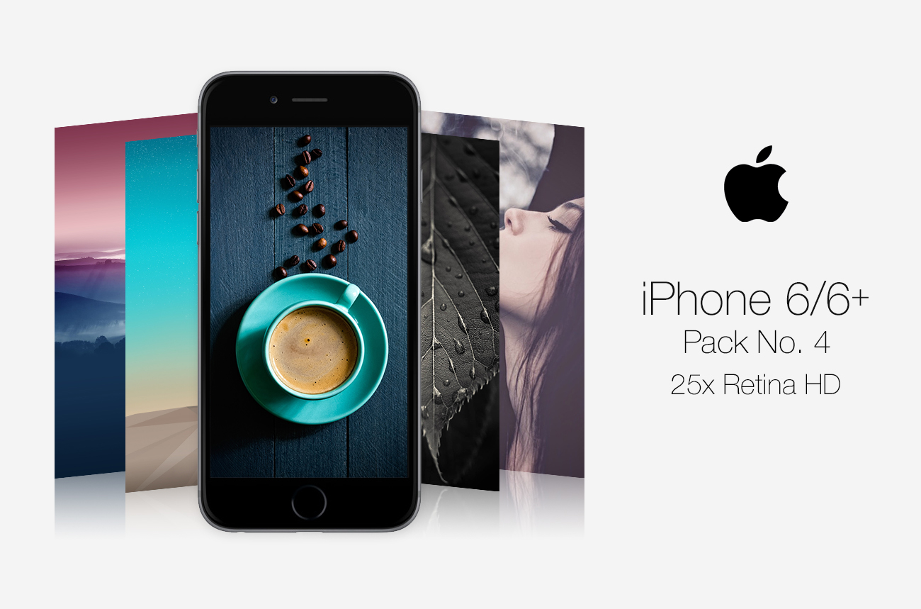 Retina HD Wallpaper Pack No. 4 - iPhone 6 ALL by pddeluxe