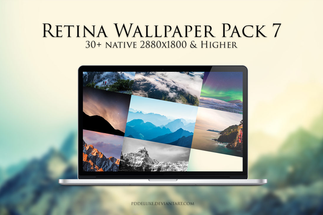Retina Wallpaper Pack 2016 No. 7 (Mountain Pack) by pddeluxe