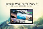 Retina Wallpaper Pack 2016 No. 7 (Mountain Pack)