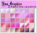 35 Purple-Pink Gradients
