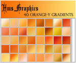 40 Orange-y Gradients