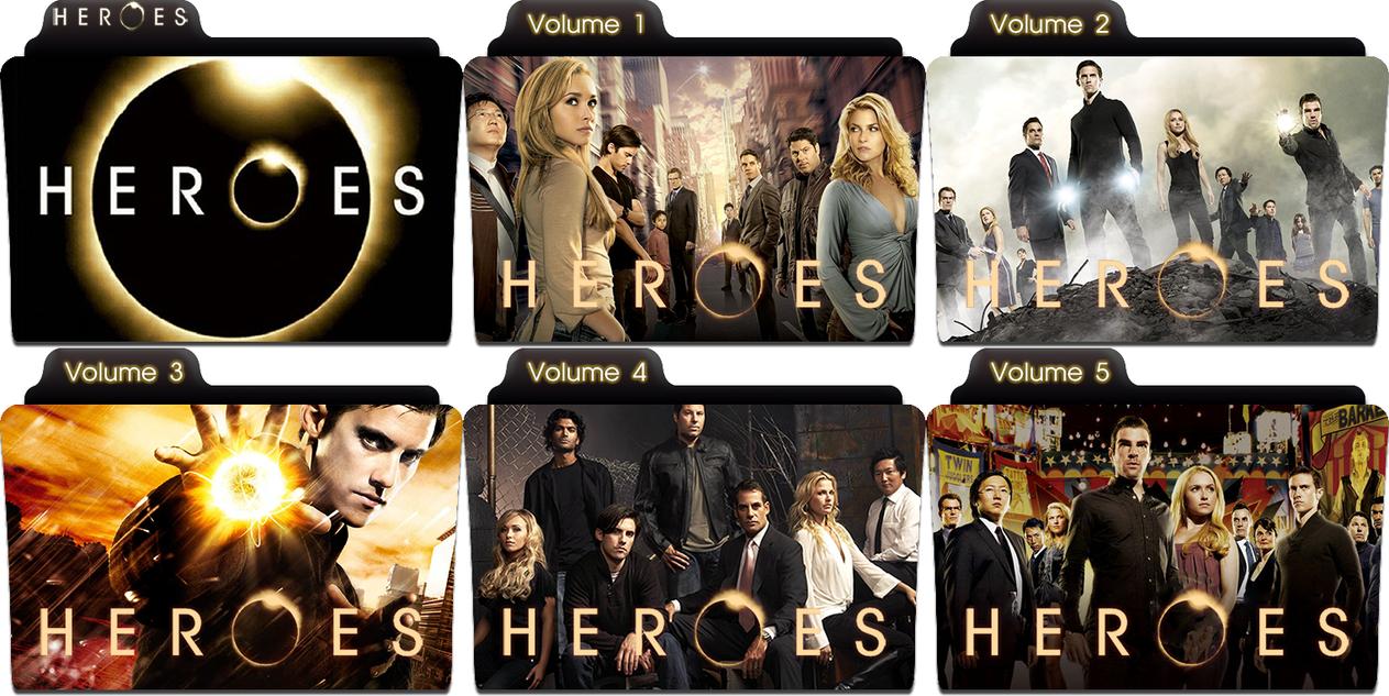 Heroes folder icons by mraop1994 on deviantart