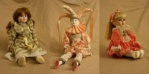 Old Dolls Stock Pack