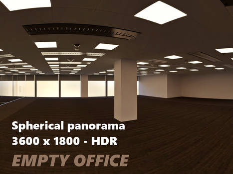 Modern Office Environment Pano - HDR